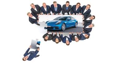 Porsche Panamera Leipzig