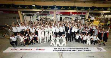 Porsche Team: Winning FIA WEC Drivers Championship