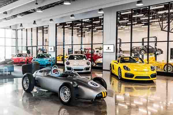 Porsche opens new Experience Center in Los Angeles