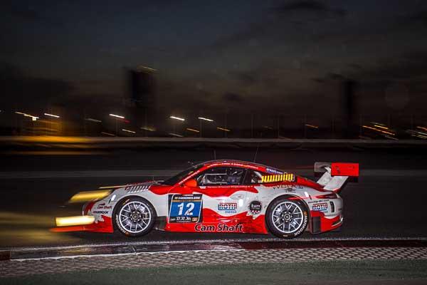 Porsche 911 GT3 R, Manthey-Racing: Sven Müller, Matteo Cairoli, Otto Klohs, Jochen Krumbach