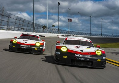 Race debut of the new 911 RSR at the sports car classic in Florida