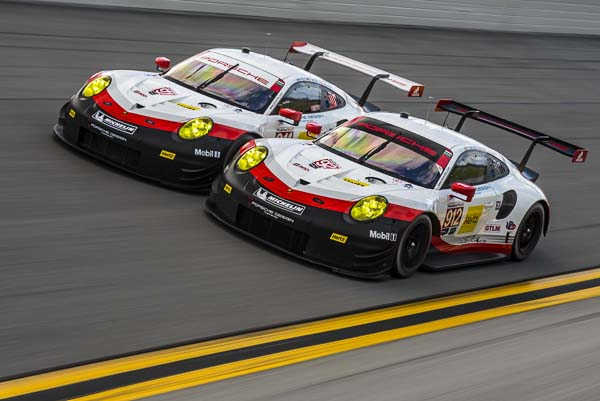 IMSA WeatherTech SportsCar Championship, Round 1, 24 Hours of Daytona, USA Race debut of the new 911 RSR