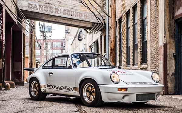 1974 Porsche 911 RS 3.0 at the Amelia Auctions