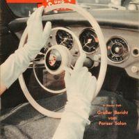 Auto Motor und Sport heft 21 1956 - test Porsche 1600