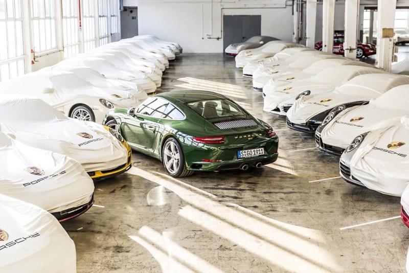 One-millionth Porsche 911 in the storage depot
