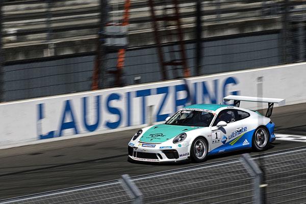 Dennis Olsen (N), Porsche Carrera Cup Deutschland - 02 Lausitzring 2017