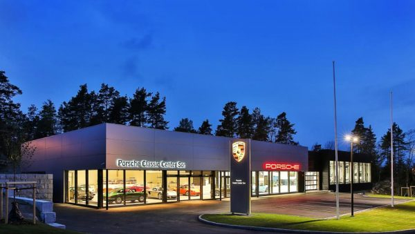 Porsche Classic Center in Norway