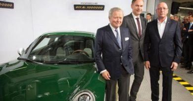 Porsche milestone: One-millionth 911 rolls off the production line