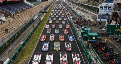 Official picture of all cars competing in the 2017 24 Heures du Mans.