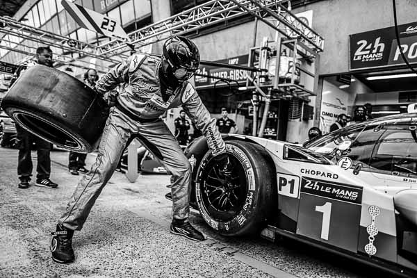 Porsche 919 Hybrid, Porsche LMP Team: Neel Jani, Nick Tandy, Andre Lotterer