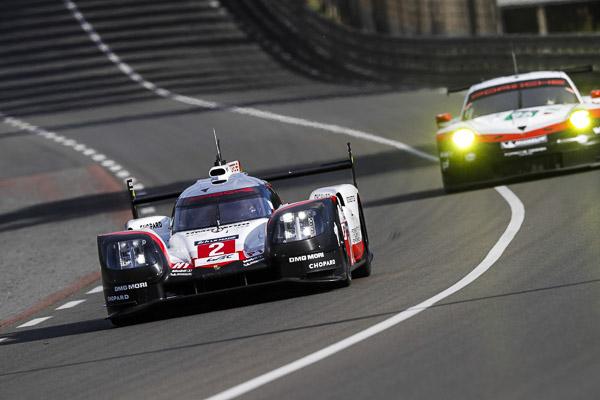 Porsche 919 Hybrid, Porsche LMP Team: Timo Bernhard, Earl Bamber, Brendon Hartley