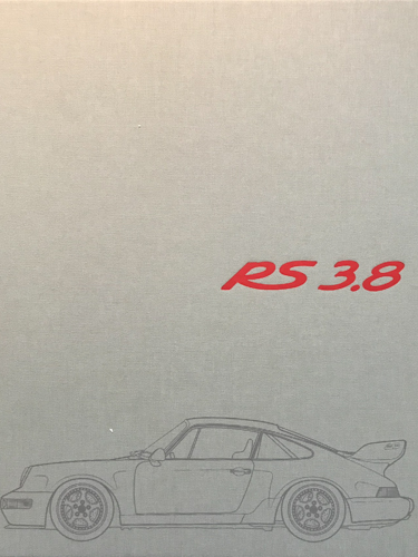 Porsche 964 Carrera RS 3.8 Book Cover
