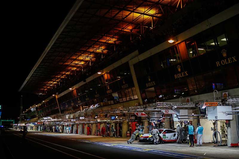 Porsche 911 RSR (91), Porsche GT Team: Richard Lietz, Patrick Pilet, Frederic Makowiecki