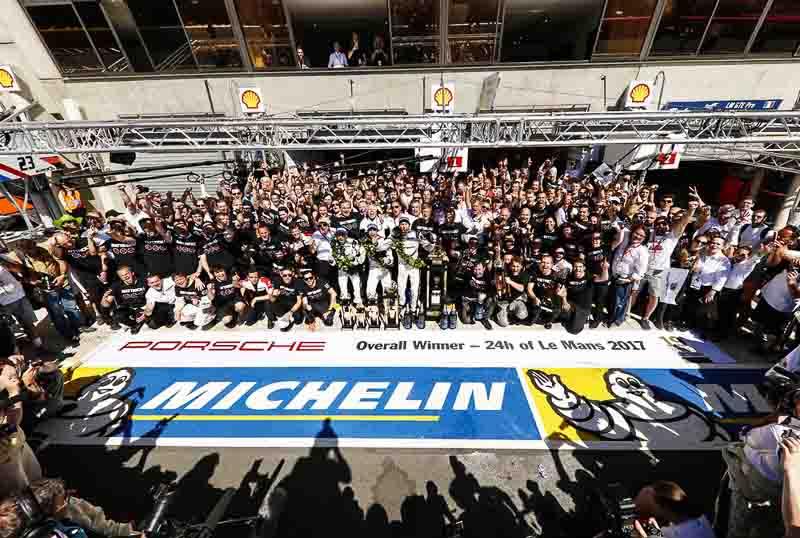 Porsche LMP Team wins Le Mans 2017