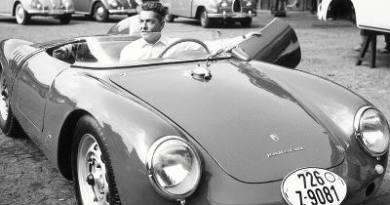Herbert von Karajan Porsche 550-0131