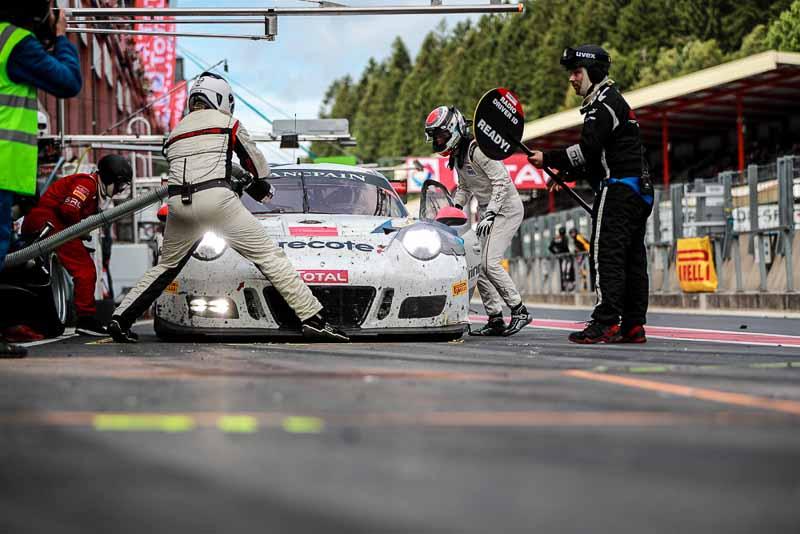 911 GT3 R (912), Herberth Motorsport: Sven Müller, Mathieu Jaminet, Daniel Allemann, Ralf Bohn