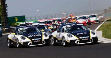 Michael Ammermüller wins Porsche Mobil1 Supercup at Hungaroring Hungary