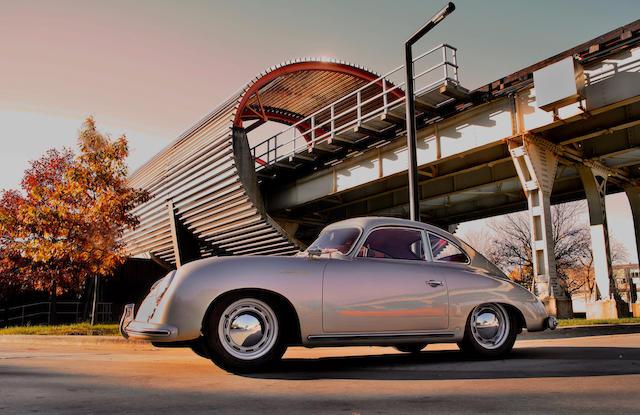 1955 PORSCHE 356 PRE-A 1500 CONTINENTAL Bonhams Monterey