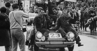 Jean-Pierre Gaban - Noel Pedro Van Assche - 1967 Spa 24H victory