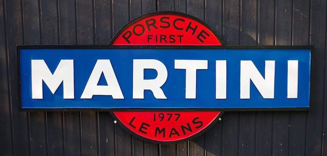 Porsche Martini Garage Display Bonhams Autojumble Beaulieu
