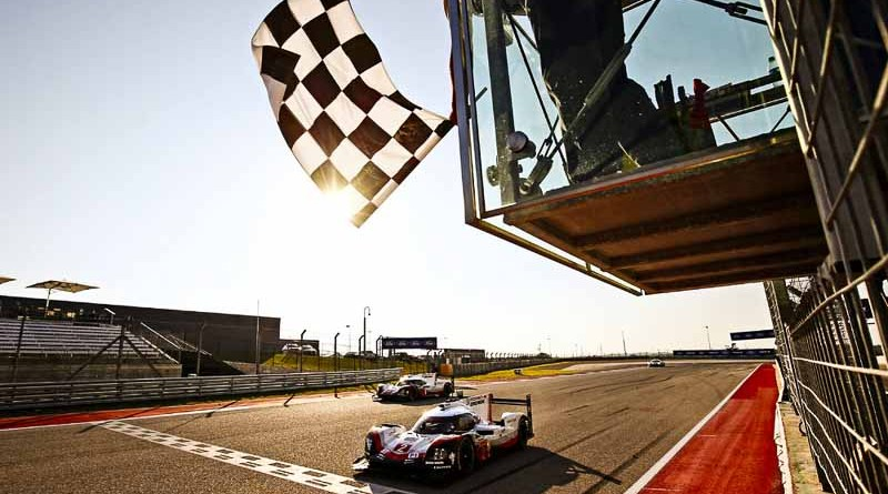 Another one-two race win for the Porsche 919 Hybrids in Texas