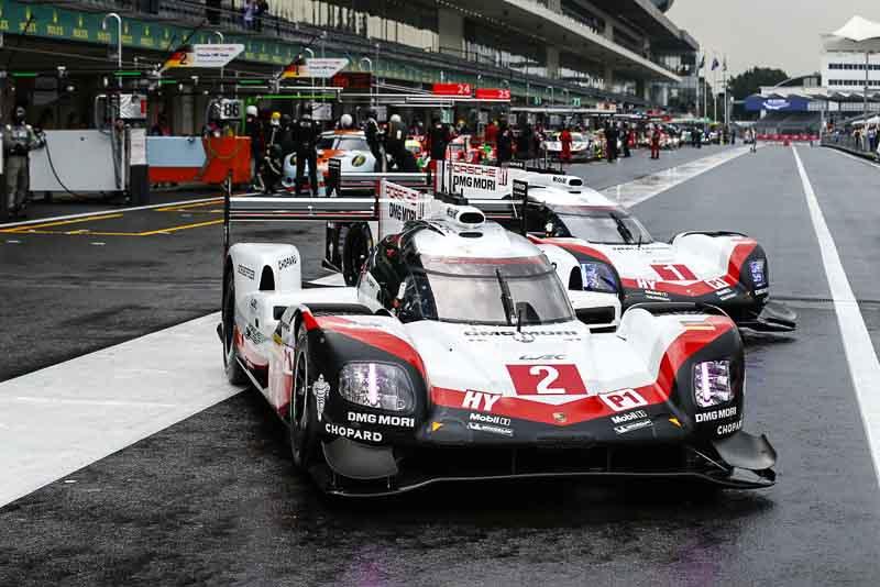 FIA WEC Mexico Porsche 919 Hybrid, Porsche LMP Team: Earl Bamber, Timo Bernhard, Brendon Hartley