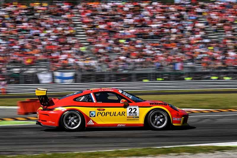 Jaap Van Lagen (NL), Porsche Mobil 1 Supercup Monza 2017