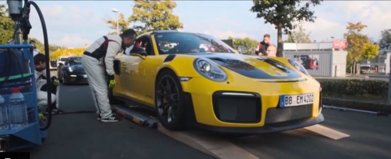 Porsche 911GT2 RS World Record Nordschleife