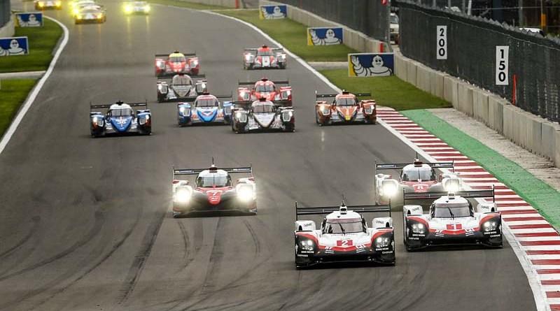 Porsche 919 Hybrid, Porsche LMP Team (#2): Earl Bamber, Timo Bernhard, Brendon Hartley, Porsche LMP Team (#1): Neel Jani, Andre Lotterer, Nick Tandy
