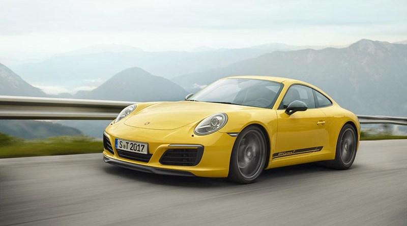 The puristic Porsche 911 Carrera T