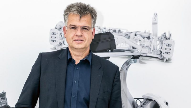 Matthias Leber is the head of the brake division and the mastermind behind the PSCB