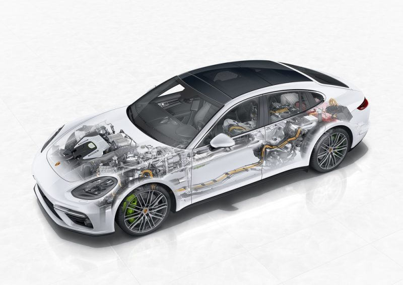 Porsche E-Performance Panamera Turbo S E-Hybrid X-ray
