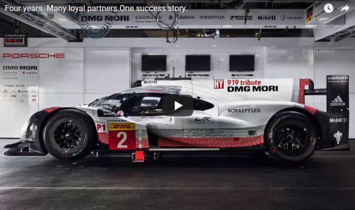 Porsche LMP1 Partners thank you video