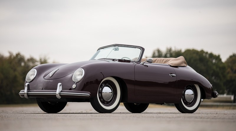 Results RM Sotheby's Scottsdale 1953 Porsche 356 1500 Cabriolet Rasy Ran ©2017 Courtesy of RM Sotheby's