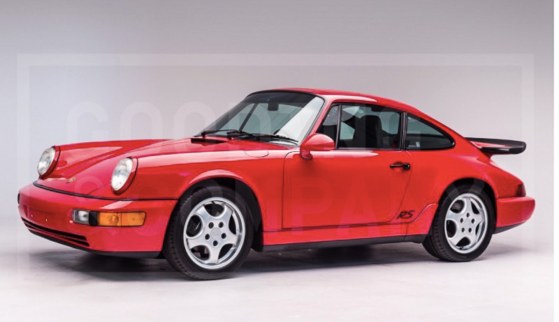 Gooding Auction Scottsdale 2018 - RS America - 1994 Porsche 964 RS America