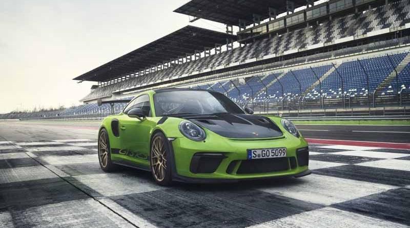 Porsche 911 GT3 RS with Weissach Package