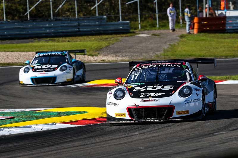 Porsche 911 GT3 R, KÜS Team75 Bernhard, ADAC GT Masters Nürburgring 2017
