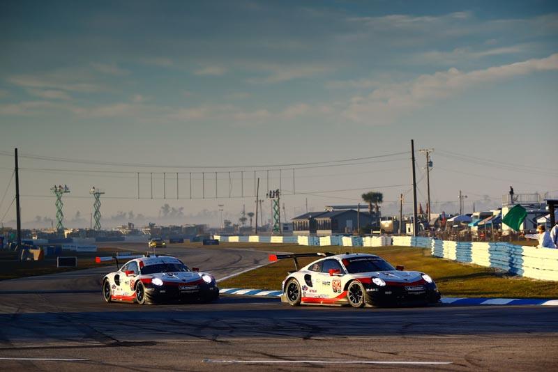 Porsche 911 RSR (912), Porsche GT Team: Earl Bamber, Laurens Vanthoor, Gianmaria Bruni, (911), Porsche GT Team (911): Patrick Pilet, Nick Tandy, Frederic Makowiecki