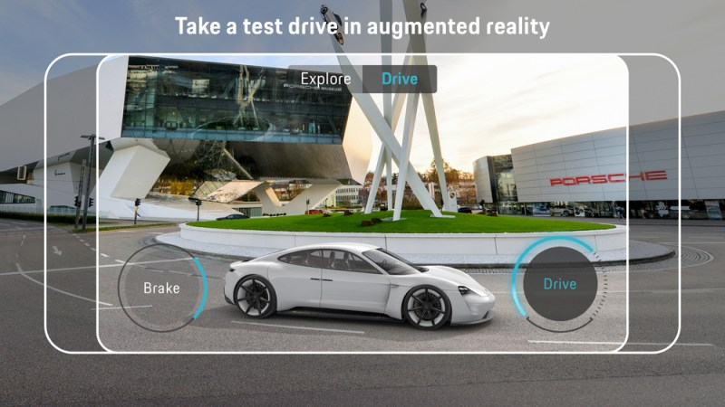 Porsche Mission E Augmented Reality App2