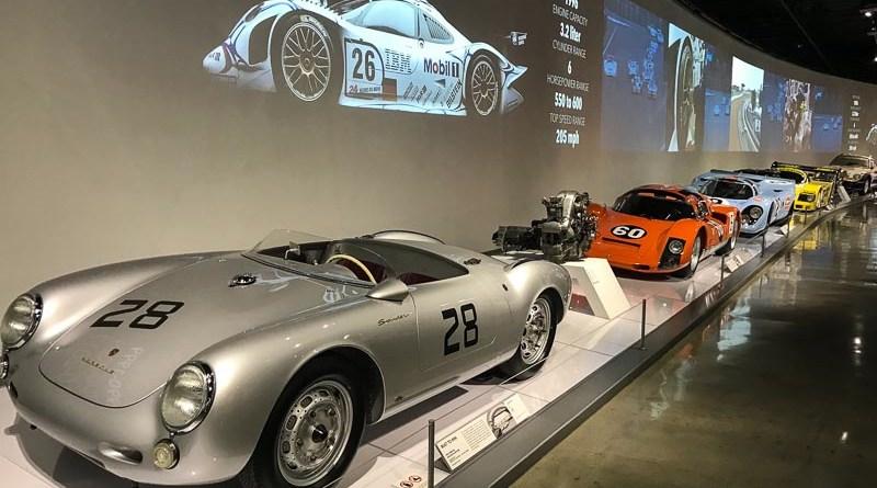 Porsche 550 Spyder - 4 cam engine - Porsche 906 - Porsche 917 - Porsche 956 - Porsche 959 Rallye Porsche Effect Petersen