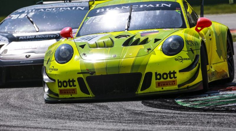Manthey-Racing, Romain Dumas (F), Frédéric Makowiecki (F), Dirk Werner (D), Monza 2018