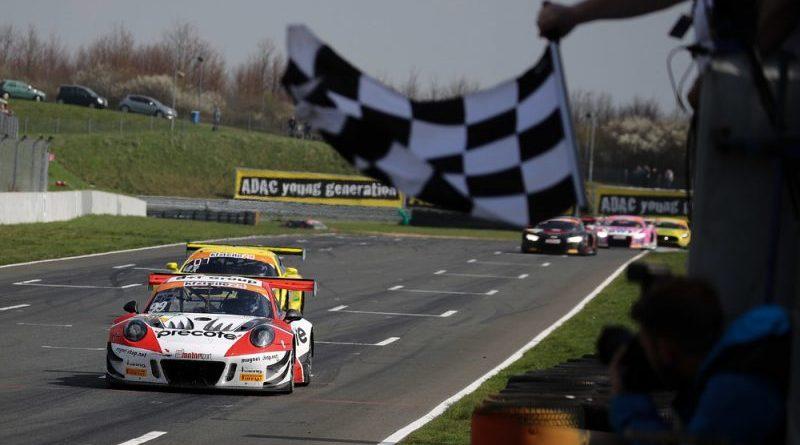 Porsche 911 GT3 R, Precote Herberth Motorsport, Robert Renauer (D), Mathieu Jaminet (F), Oschersleben 2018 ADAC GT Masters