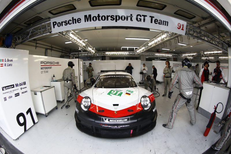 Porsche 911 RSR, Porsche GT Team (91), Gianmaria Bruni, Richard Lietz