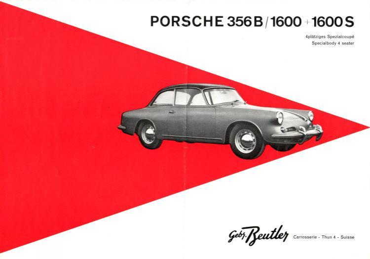 The Beutler Porsche brochure
