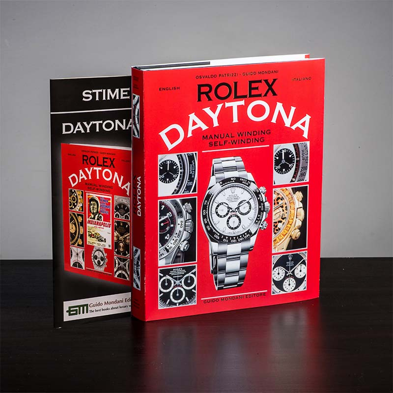Rolex Daytona - Manual winding and self-winding Book Cover