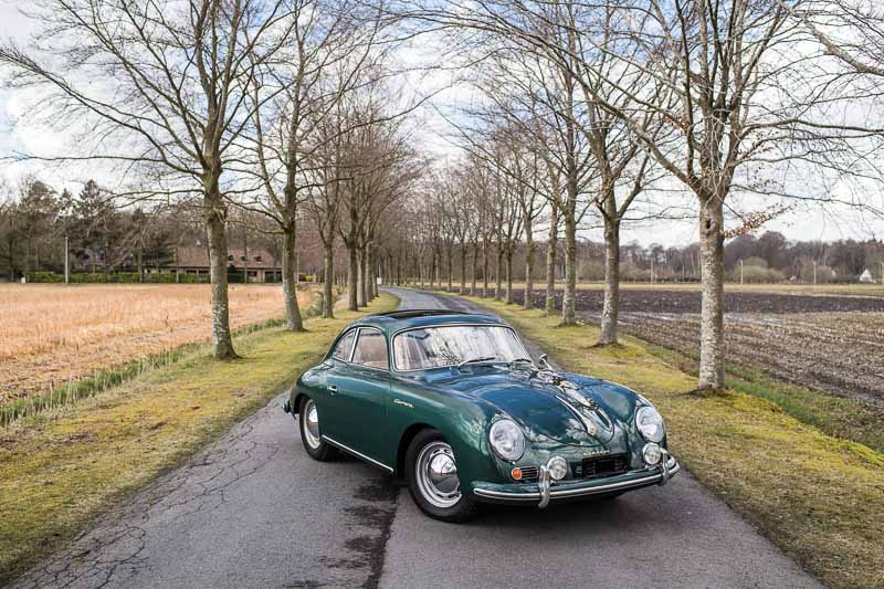 1955 Porsche 356 A Carrera GS 'Sunroof' Coupé by Reutter Dirk de Jager ©2018 Courtesy of RM Sotheby's
