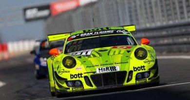 Manthey-Racing, Porsche 911 GT3 R (911), Nürburgring 2018