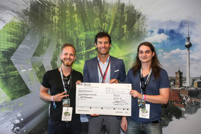 Porsche Next Innovation Competition Winning team - Team AUTOmator