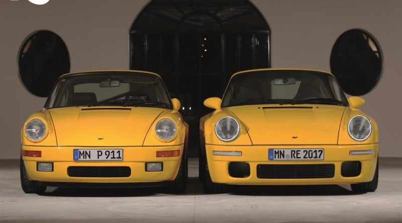 RUF MAKES US DEBUT OF NEW CTR AT THE QUAIL, A MOTORSPORTS GATHERING