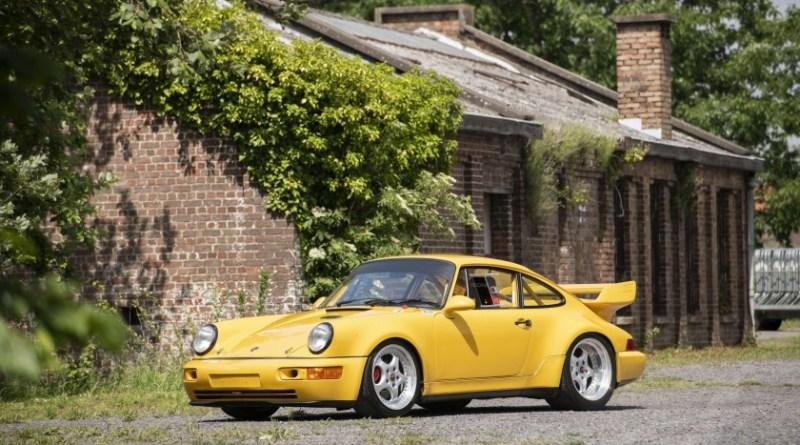 Lot 35 Artcurial Auction Le Mans Classic porsche 964 Carrera RSR 3.8